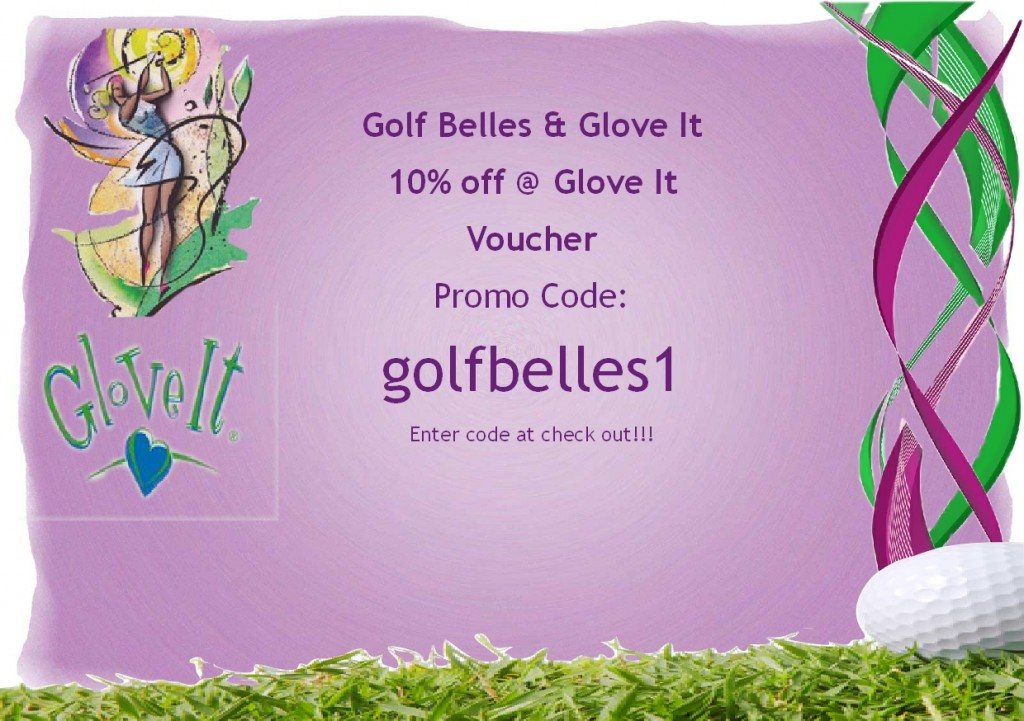 Golf Belles Glove It Promotion