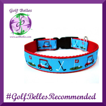 Dog Day Collars are Golf Belles Recommended