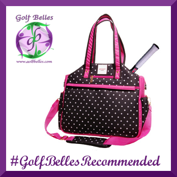 Isaac Mizrahi Tote Bags are Golf Belles Recommended!